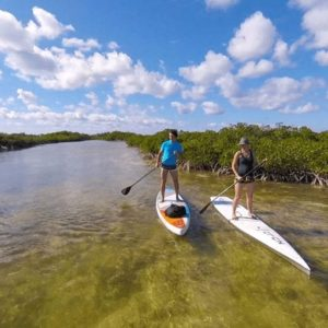 Providenciales water sports kayak tour